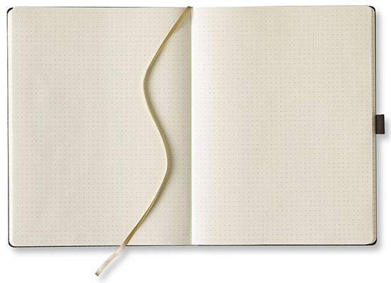 """Foto von """"Notizbuch Ivory Line PUNKTIERT"""""""