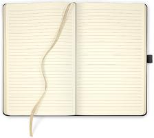 """Foto von """"Notizbuch Ivory Line LINIERT"""""""